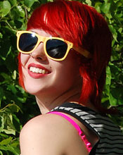 Sabrina Steps Outside To Enjoy A Gorgeous Day And Flaunt Her New Red Hair - Picture 4